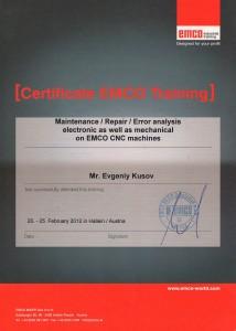 EMCO-Kusov